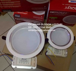 Lampu Downlight LED 9W dan 16W Epistar Nerolight